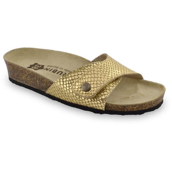 MADRID Kožené dámske papuče (36-42)