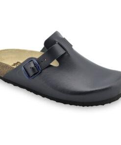 RIM Kožené dámske uzavreté papuče (36-42)