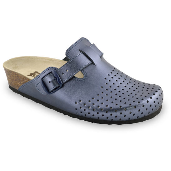 BEOGRAD papuče uzavreté pre dámy - koža kast (36-42)