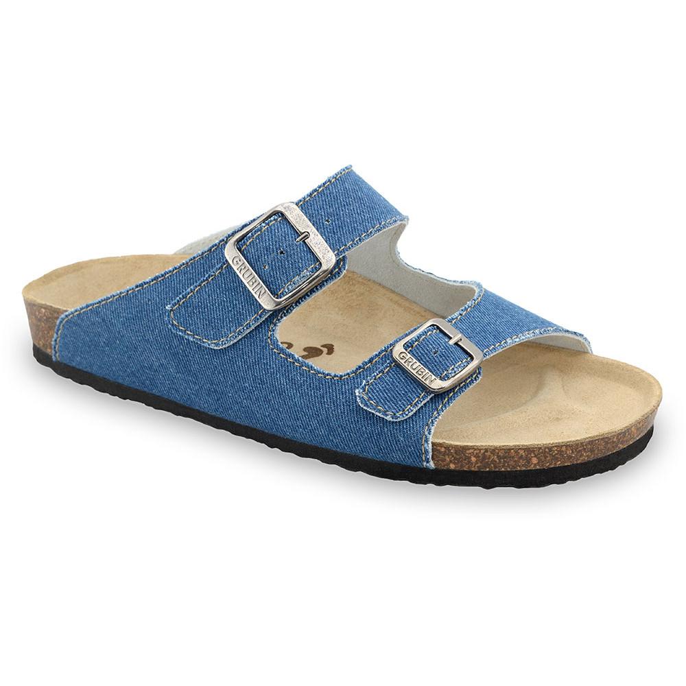 KAIRO papuče pre pánov - tkanina (40-49) - modrá, 43