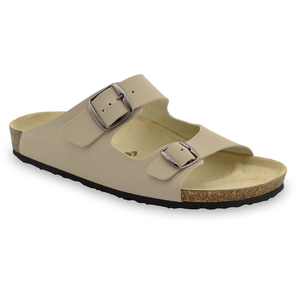 KAIRO papuče pre pánov - koža (40-49)