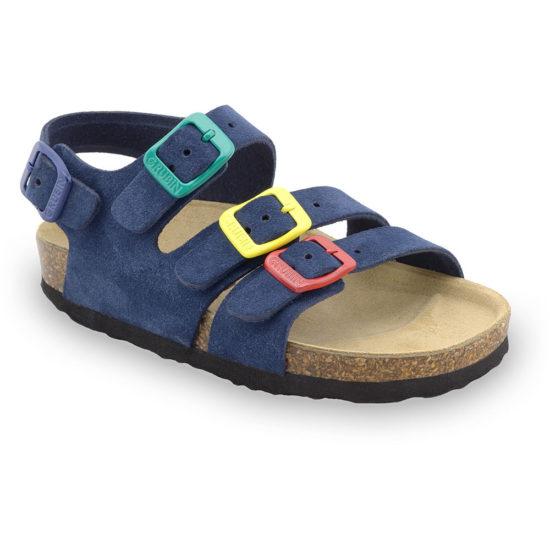 CAMBERA kožené detské sandále (23-29)