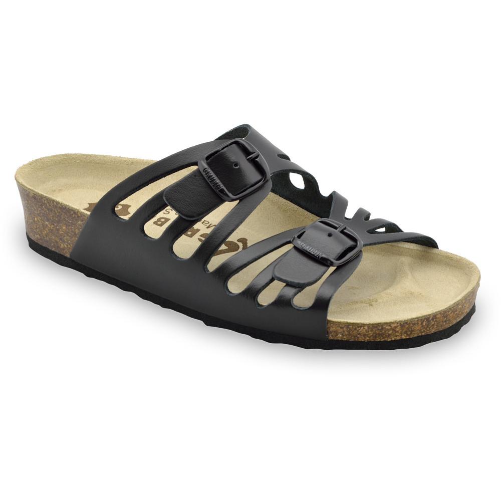 DERBY papuče pre dámy - koža (36-42)
