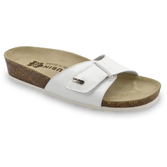 BRIGITTE papuče pre dámy - koža (36-42)