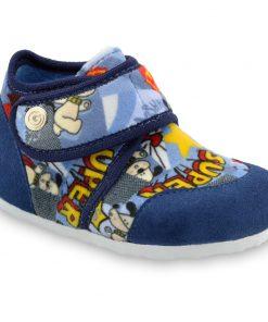 KINDER domáca zimná obuv pre deti - pliš (23-35)