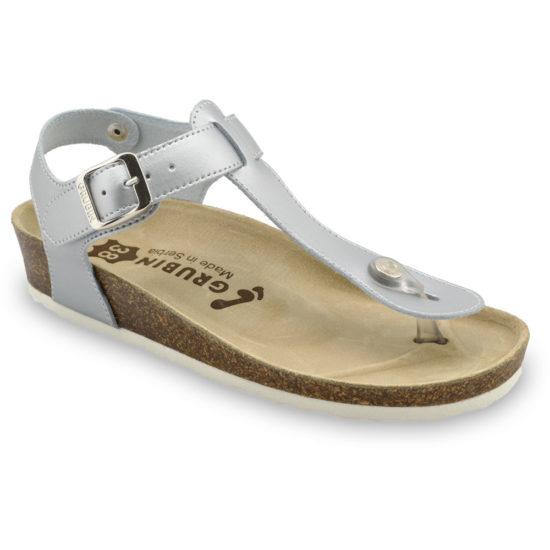 TOBAGO sandále s oporou palca pre dámy - koža kast (36-42)