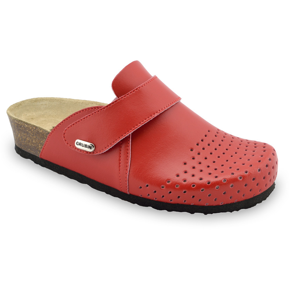 OREGON papuče uzavreté pre dámy - koža (36-42)