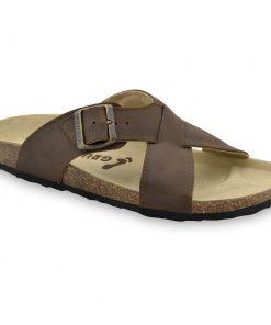 BORSALLINO papuče pre pánov - koža (40-49)