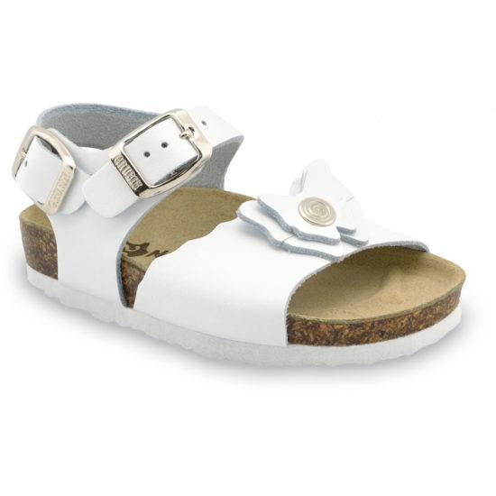 BUTTERFLY sandále pre deti - koža (23-29)