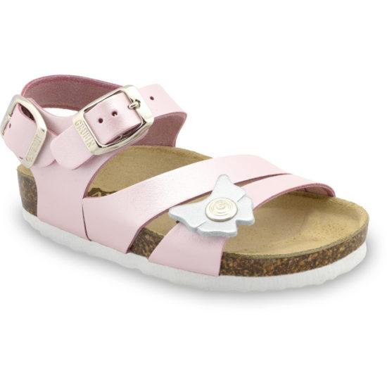 KATY Kožené detské sandále (30-35)