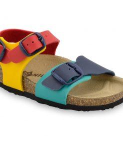 ROBY sandále pre deti - koženka (23-29)