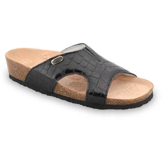 MARTINA papuče pre dámy - koža (37-41)