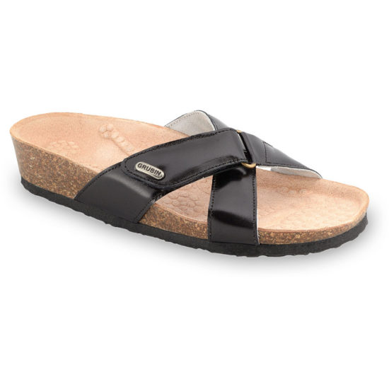 EMILIANA papuče pre dámy - koža (37-41)