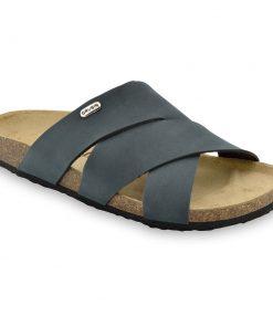 MORANDI papuče pre pánov - koža nubuk (40-49)