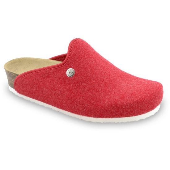 CAKI domáca zimná obuv pre dámy - plsť (36-42)