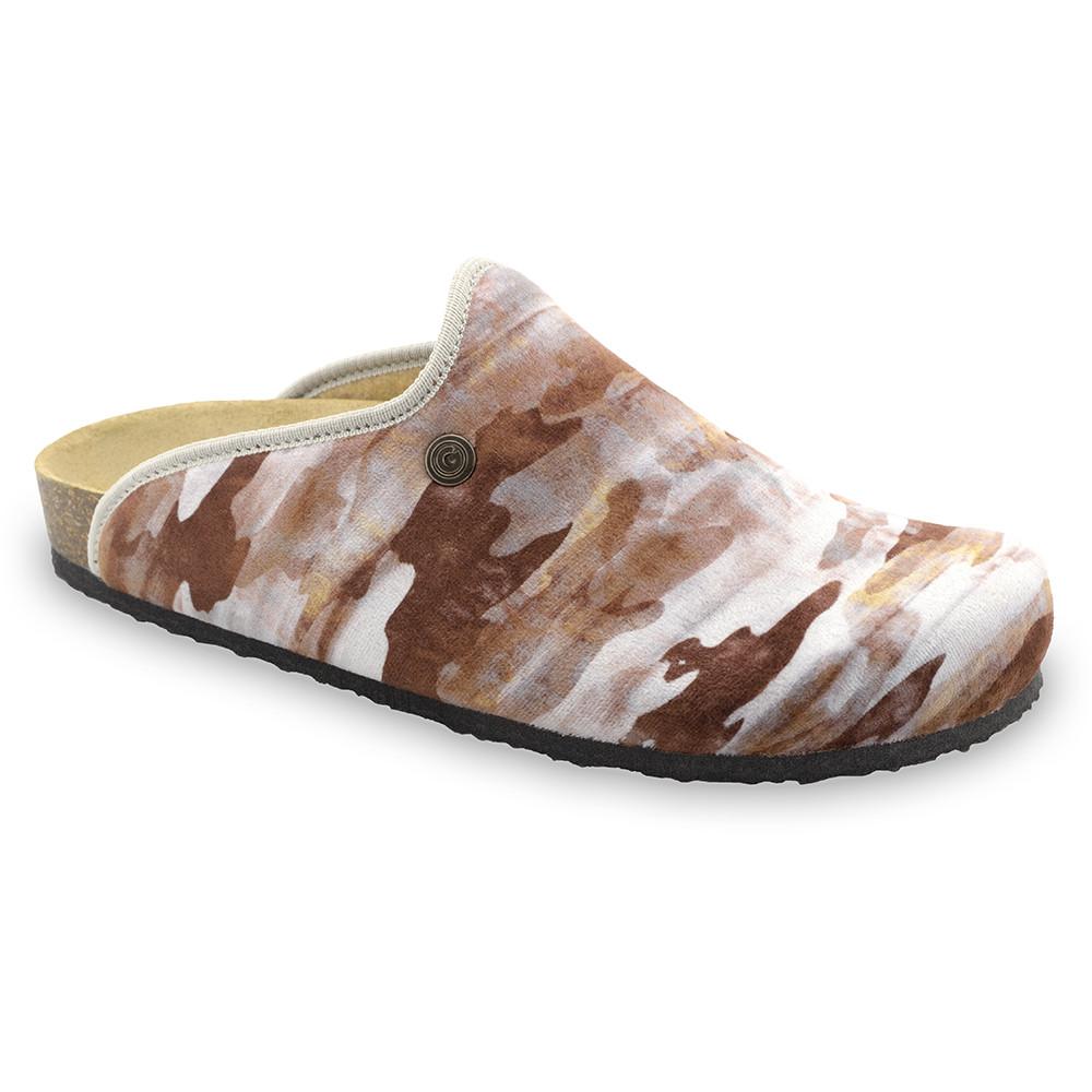 CAKI domáca zimná obuv pre pánov - pliš (40-49) - vzorová, 46