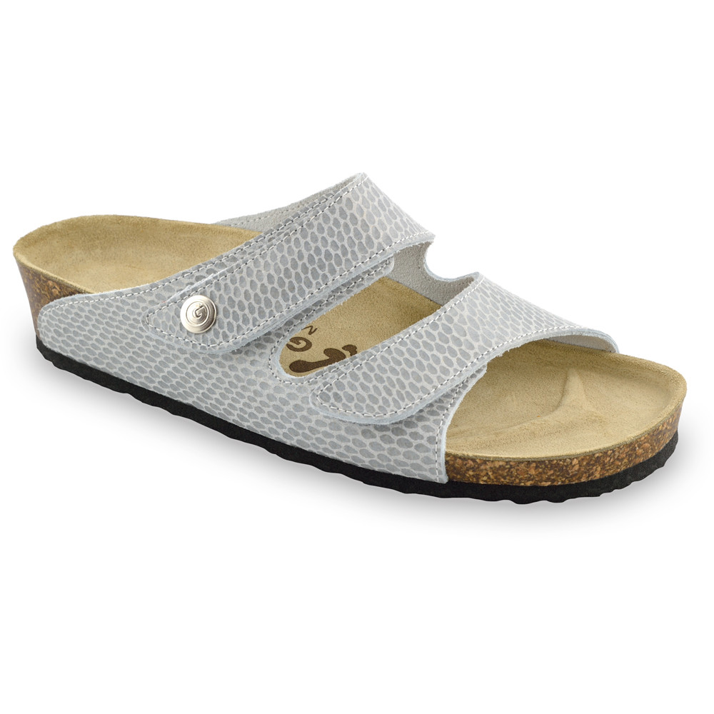 DARA Kožené dámske papuče (36-42)