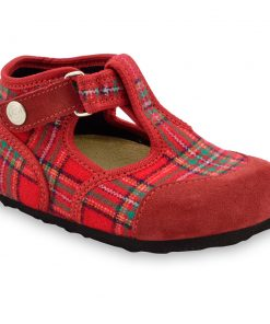 CORONA domáca zimná obuv pre deti - plsť (23-35)