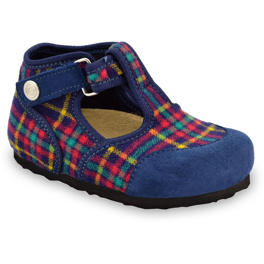CORONA domáca zimná obuv pre deti - plsť (23-35) - vzorová, 35