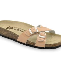 MODENA Kožené dámske papuče (36-42)