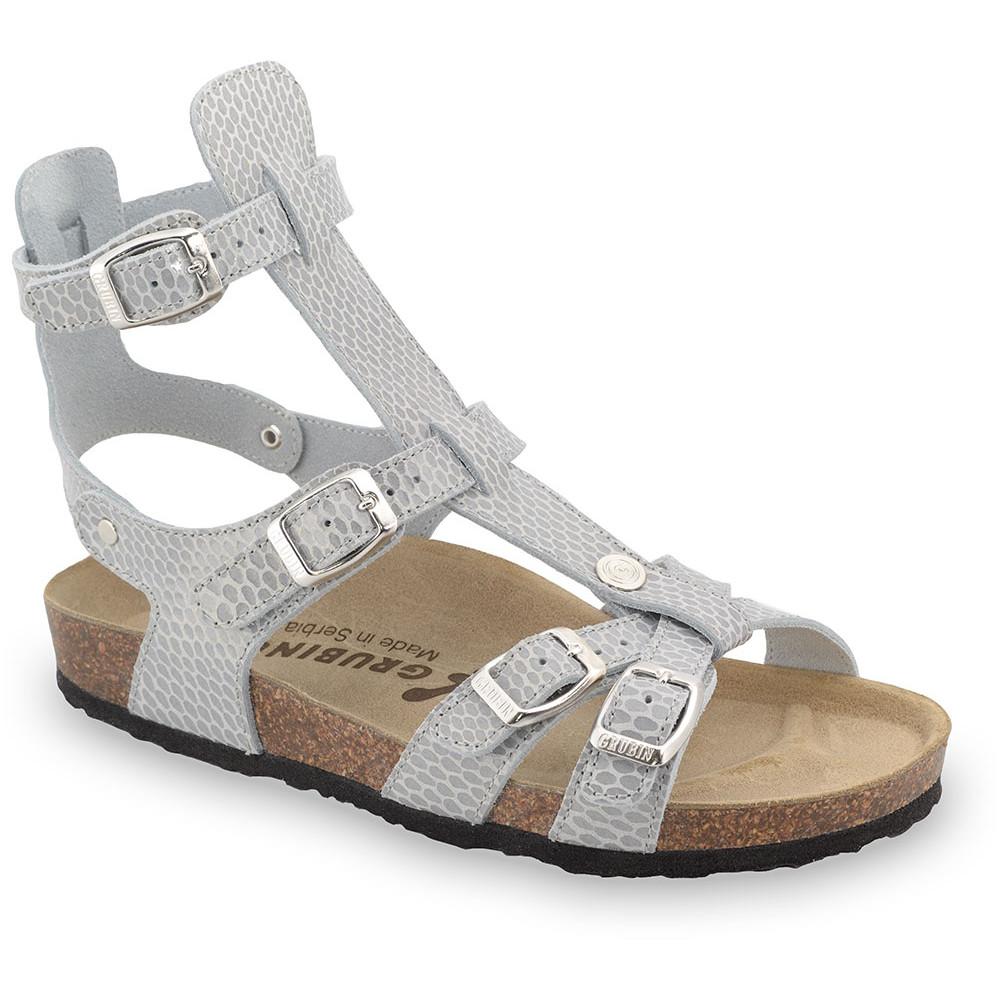 CATHERINE sandále pre dámy - koža (36-42) - sivá zmija, 40