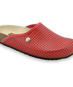 TERRA Kožené dámske uzavreté papuče (36-42)