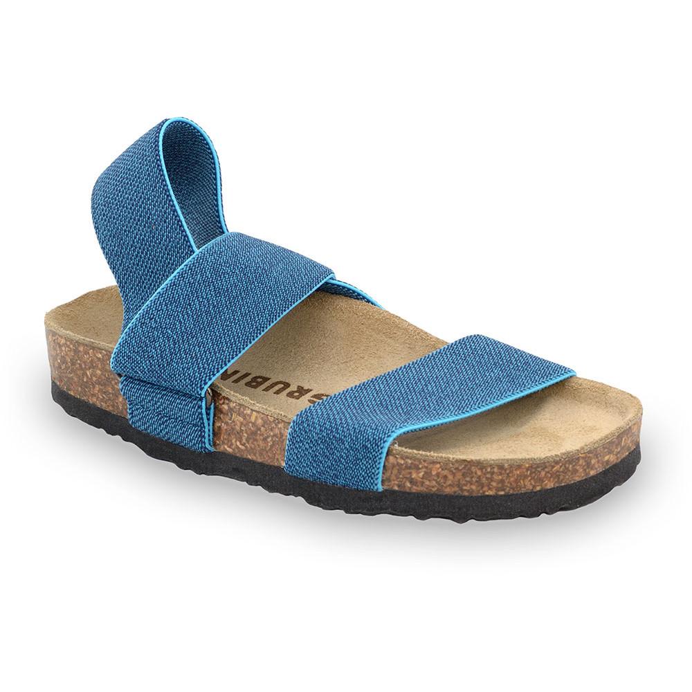 RAMONA sandále pre deti - tkanina (30-35) - modrá, 33