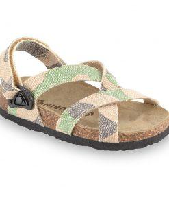 PITAGORA sandále pre deti - tkanina (30-35)