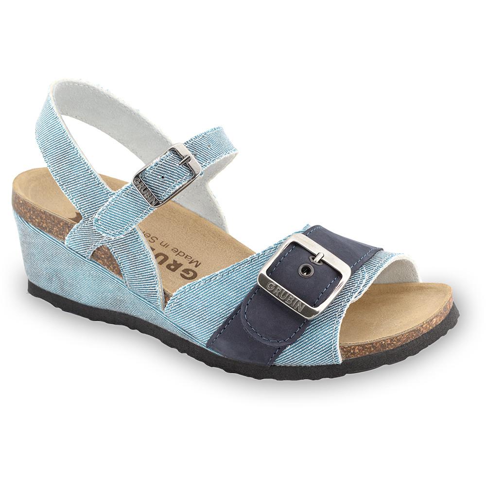 TIMEA sandále pre dámy - tkanina (36-42)