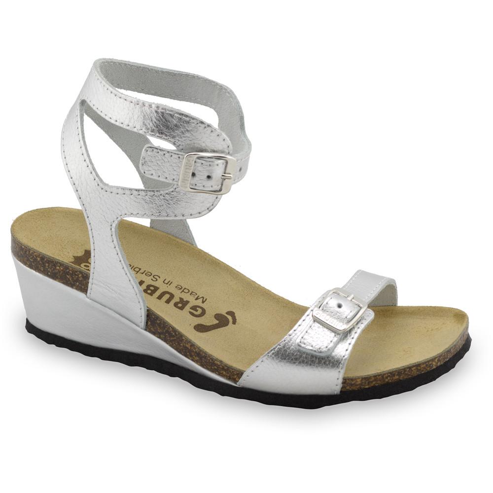 VENUS sandále pre dámy - koža (36-42) - strieborná, 41