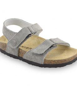 RAFAELO sandále pre deti - semišová koža (23-29)