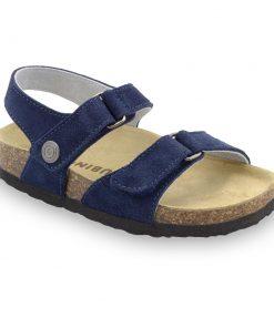 RAFAELO sandále pre deti - semišová koža (30-35)