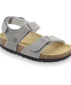DONATELO sandále pre deti - semišová koža (30-35)