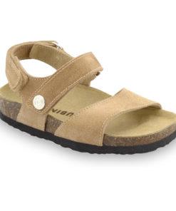 EJPRIL sandále pre deti - koža nubuk (23-29)