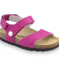 EJPRIL sandále pre deti - koža nubuk (30-35)