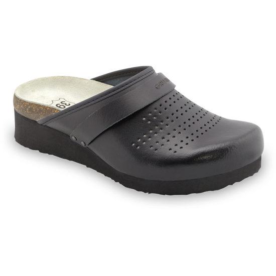 MALME papuče uzavreté silverplus - koža (36-42)