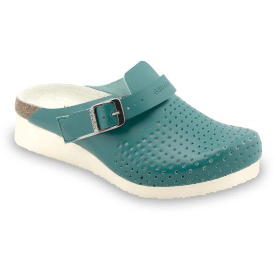 DUBAI papuče uzavreté silverplus - koža (36-42)