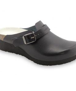 MELBOURNE papuče uzavreté silverplus - koža (36-42)