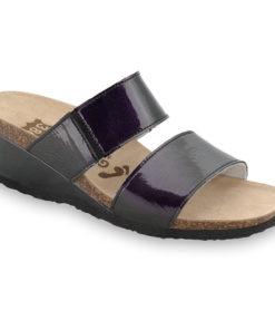 NATASHA Kožené dámske papuče (36-42)