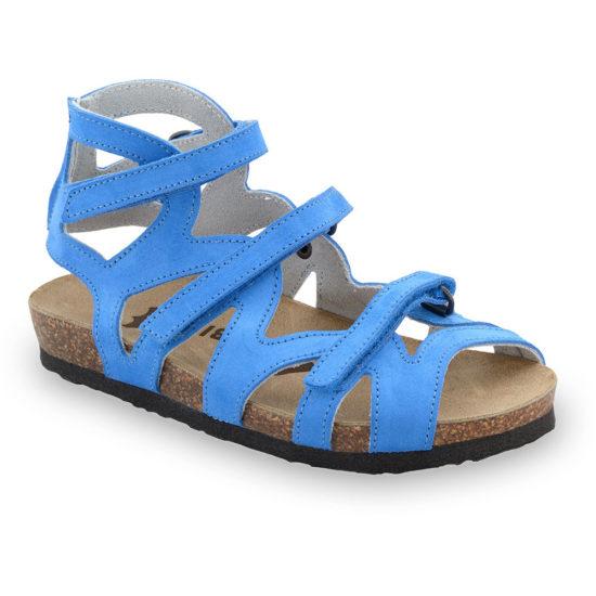 MERIDA sandále pre deti - koža (25-29)