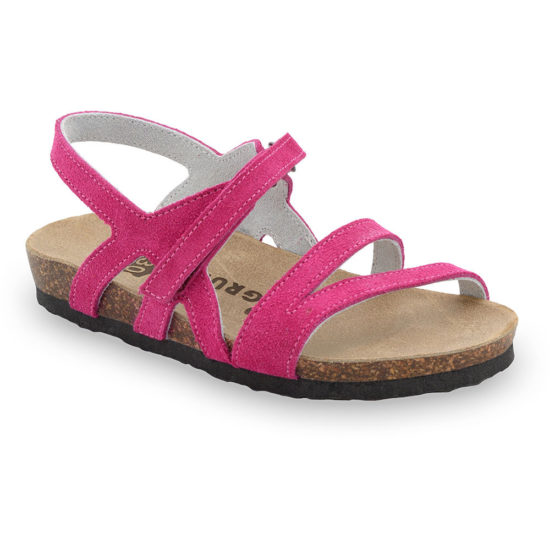 BELLE sandále pre deti - koža (25-29)