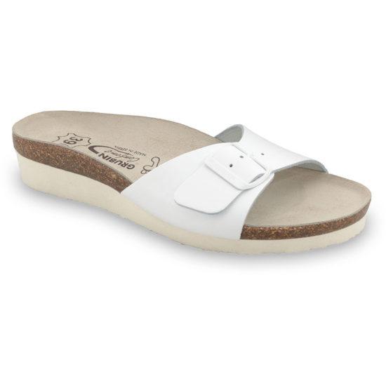 TOPEKA papuče silverplus - koža (36-42)
