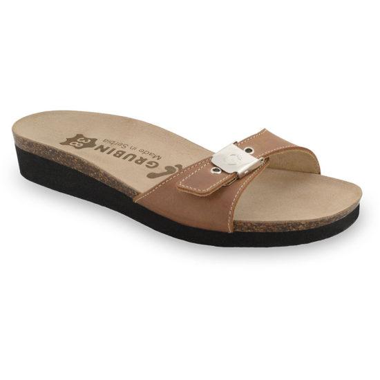 PATAGONIA Kožené dámske papuče (36-42)