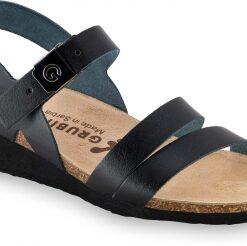 LUCCA   čierna   anatomická obuv Grubin   sandále pre dámy