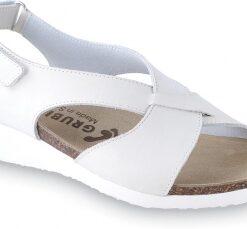 MUSCAT   kožená anatomická obuv   biela